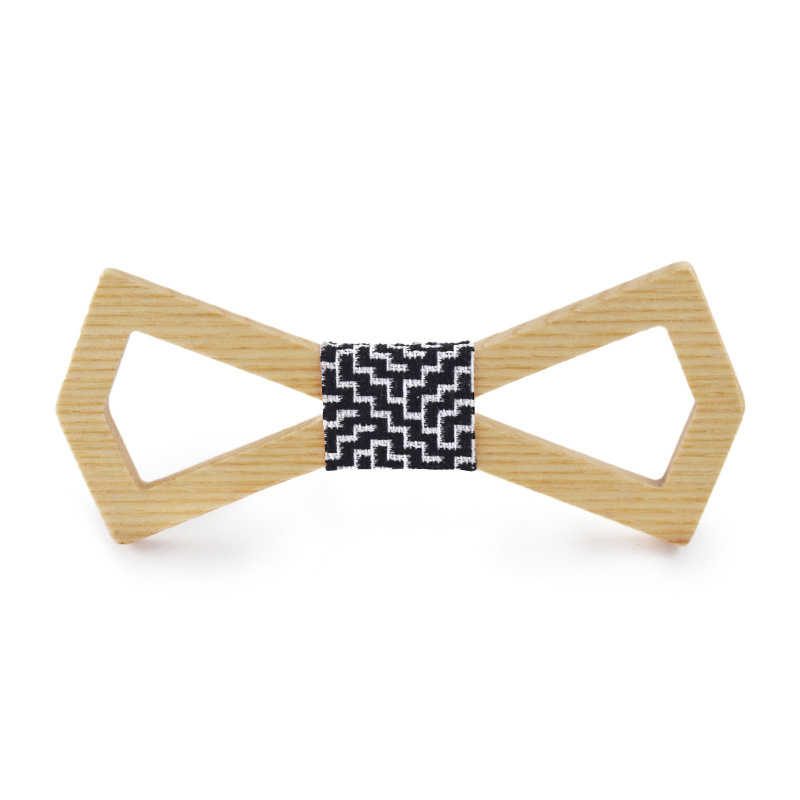 novelty neckties Handmade wooden bow tie men Business Necktie