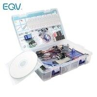 Starter Kit für Arduino Uno R3 - Uno R3 und Breadboard halter Schritt Motor / Servo /1602 LCD / jumper draht/UNO R3