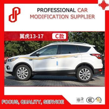 Car Sticker Waist Line Body Decoration Refitted Car Sticker For KUGA 2013-2017