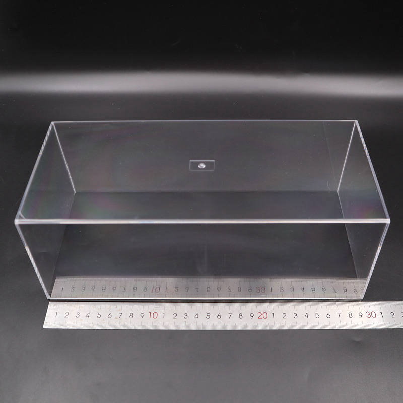 Model Car Acrylic Case Transparent Dustproof With Black Base 1/64 1/43 1/32 1/18 1/24 Scale Display Box High Quality
