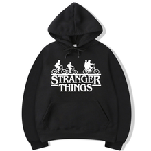 2019 Trendy Faces Stranger Things Hooded Mens Hoodies and Sweatshirts Oversized for Autumn with Hip Hop Winter Hoodies Men Brand trendy anime things hooded mens hoodies and sweatshirts oversized for autumn with hip hop winter hoodies men brand add wool warm