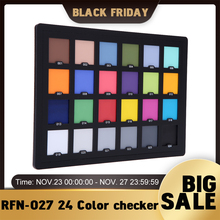 Andoer Professional 24 Color checker Palette Board Card Test for Superior Digital Color Correction for Balancing Photo Editing