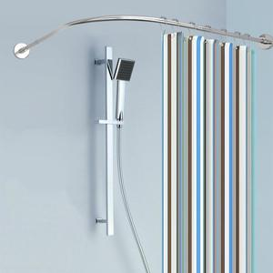 Extendable Curved Shower Curta