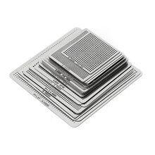 27 шт., трафареты BGA, Универсальный прямой обогрев, трафареты для микросхем SMT SMD, Rpair E5BA