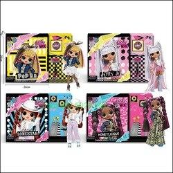 Новые куклы LOLS Surprise LOLS с длинными волосами OMG Pop B.B. Модные экшн-игрушки с 25 фигурками сюрпризов, подарок ребенку на день рождения