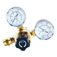 Equipment Accessories Easy Reading Industrial Brass Gauges Gas Welding Pressure Universal Argon Regulators CO2 Flow Meter Tool