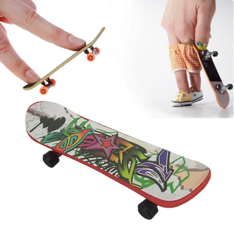 Mini Finger Skateboard Training Children Finger Coordination High Quality Durable Antiskid Skate Boarding Game Toy Fingerboard