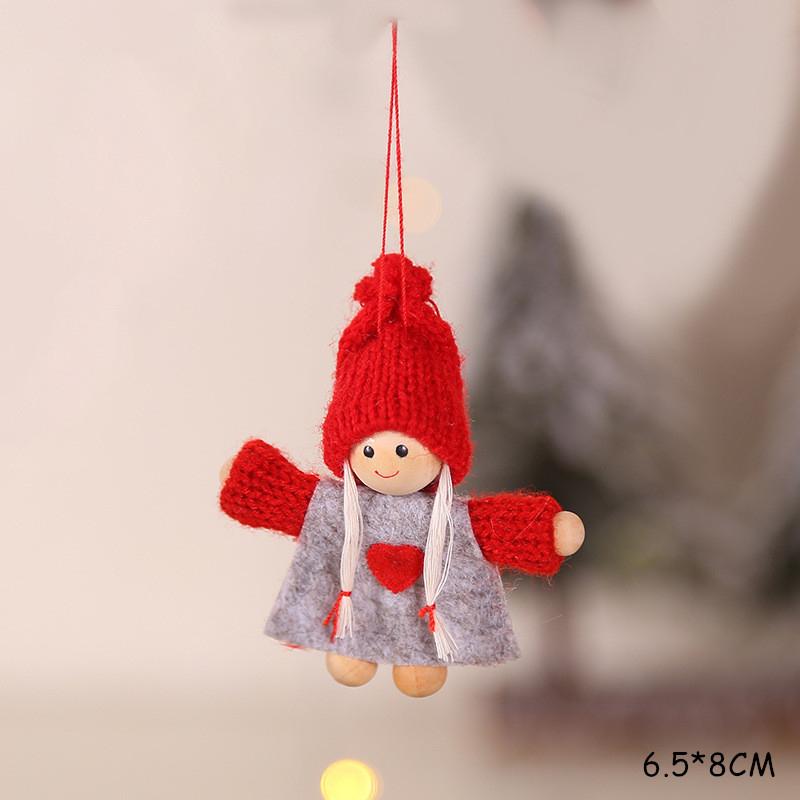 2020 New Year Gift Cute Christmas Angel Doll Xmas Tree Ornament Noel Deco Christmas Decoration for Home Natal Navidad 2019 Decor 53