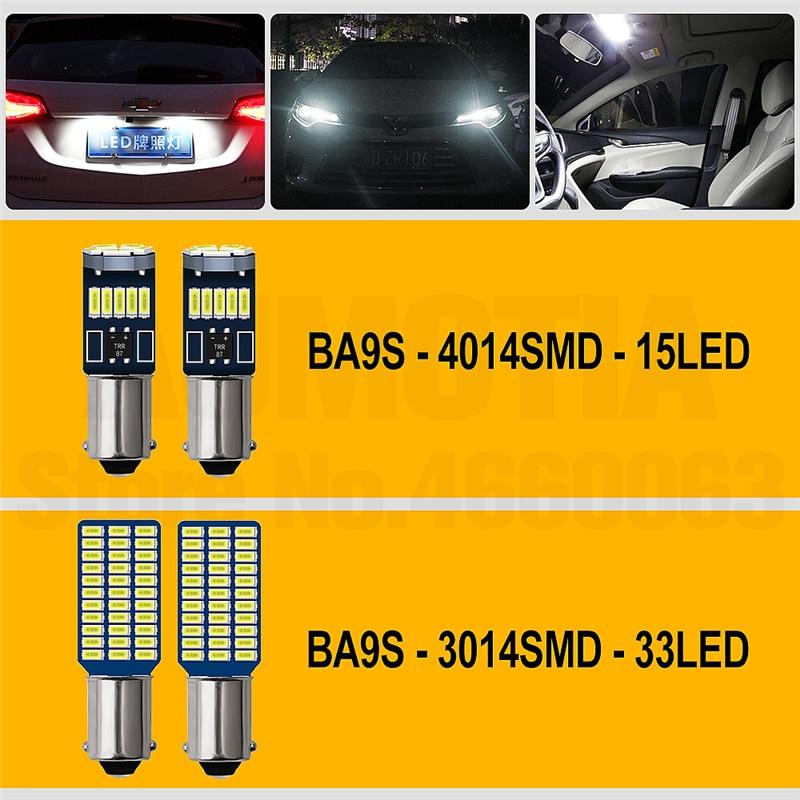 H4c0692e2d4144c758271916a1b41640fh 2x BA9S T4W LED Car light bulb T2W T3W H5W interior Car LED License Plate light 2 LED 2835 SMD DC12V 12913 12910 12929