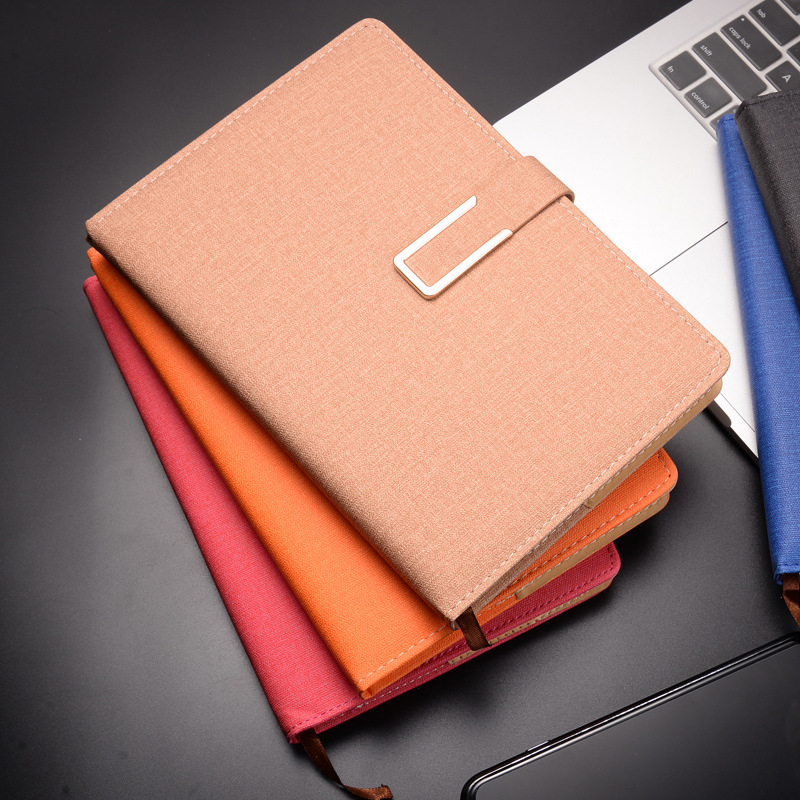 2020 New Creative business notebook set  Korean Stationery Diary Weekly Planner A5 Agenda Leather Journal Dairy school supplise
