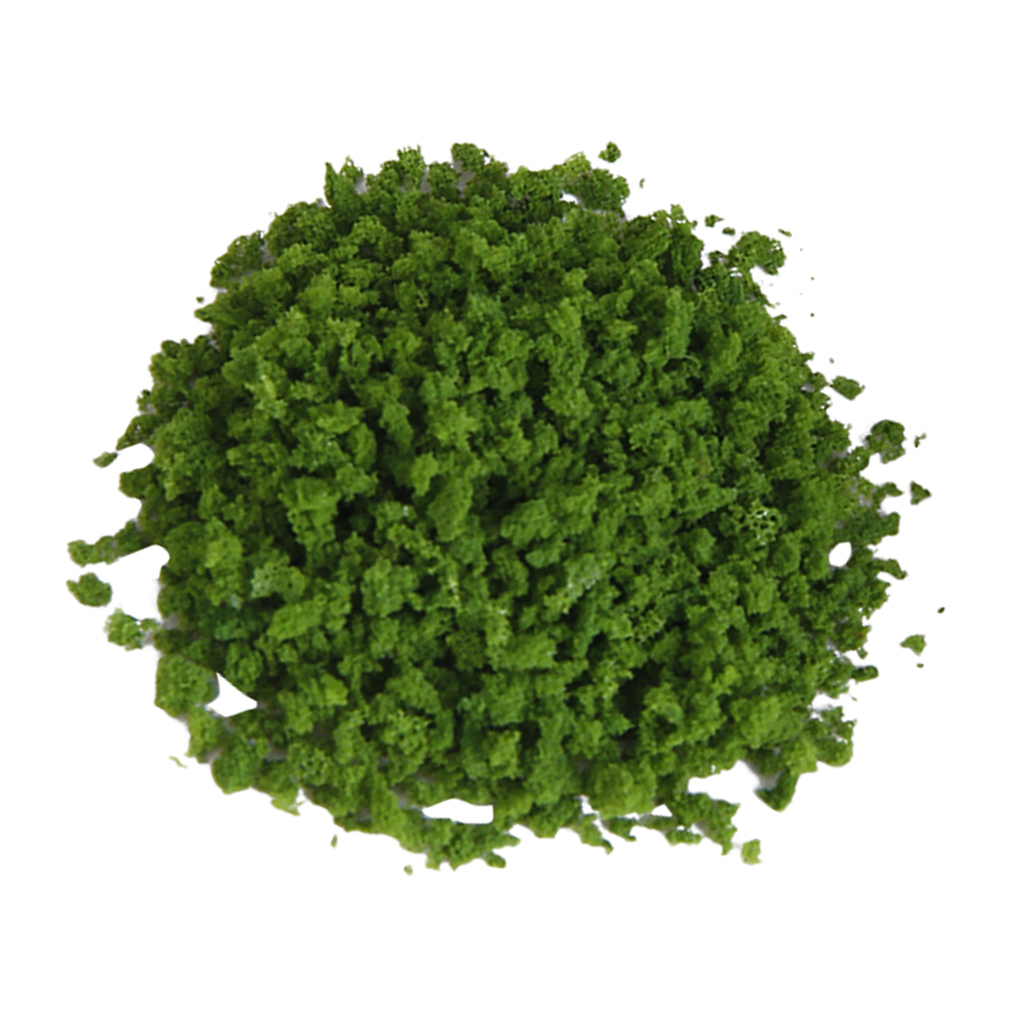 1 Pack Artificial Foliage Grass Powder, Architectural Model Materials Building Supplies, 20g Light Green
