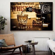 Современные абстрактные настенные постеры и принты виски напитков