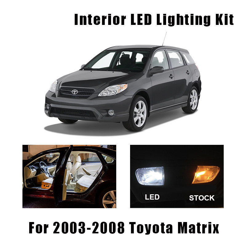 2004-2006 Pontiac GTO White LED Lights Interior Package Kit