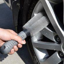 Новые колеса автомобиля щетка для мытья шины обод скраб воском