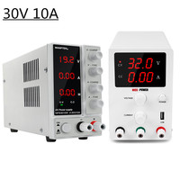 New 3 Types Switching Adjustable Dc Power Supply 30V 10A LED Display Digital Transformers Current Regulator Power Supplies