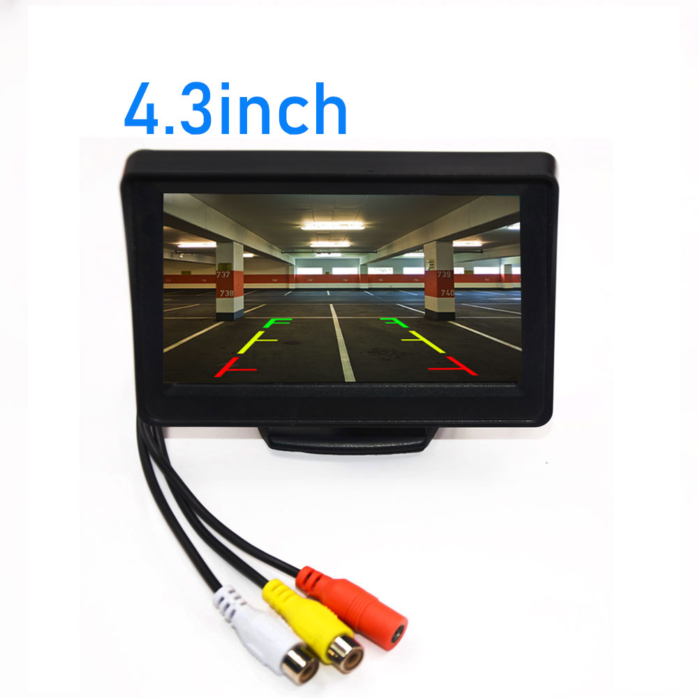 BYNCG HD CCD Night Vision Reverse Camera 140 Angle Car Rear View Camera IP67 DC 12V/24V Vehicle Camera For VW Ford Toyota & More