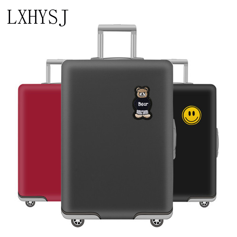 The New Travel Luggage Cover Suitcase Protective Sleeve Suitable For 19-32 Inch Trolley Case Dust Cover Travel Accessories