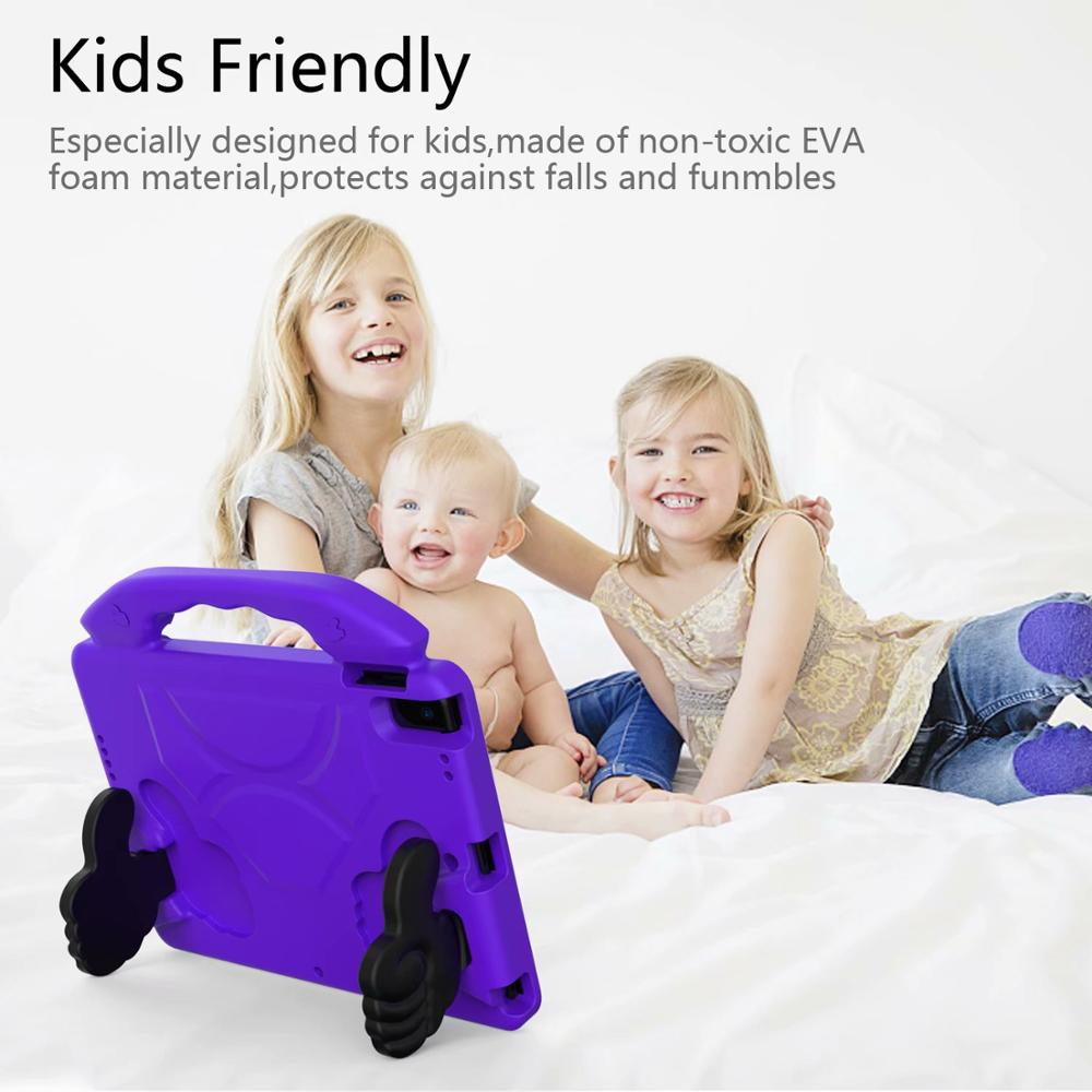 Thumb Kids Friendly Safety Cover For iPad 10 2 2019 7th Generation A2200 A2198 A2232 Case
