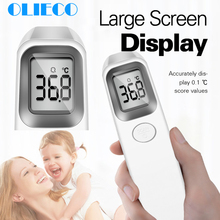 Лоб Бесконтактный инфракрасный термометр для ребенка взрослый больница цифровой ЖК-дисплей температура тела датчик температуры