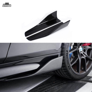 Image 1 - Carbon Fiber Side Skirts For Benz C class c250 W204 W205 C205 c63 AMG E class E350 coupe W212 W207 W213 W238 side spoiler wing