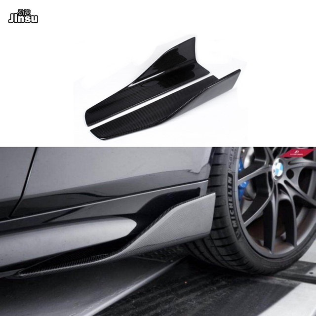 Carbon Fiber Side Skirts For Benz C class c250 W204 W205 C205 c63 AMG E class E350 coupe W212 W207 W213 W238 side spoiler wing