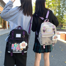 Female Backpack Bag Class-Bag Japanese College Korean-Version Schoolbag Large-Capacity