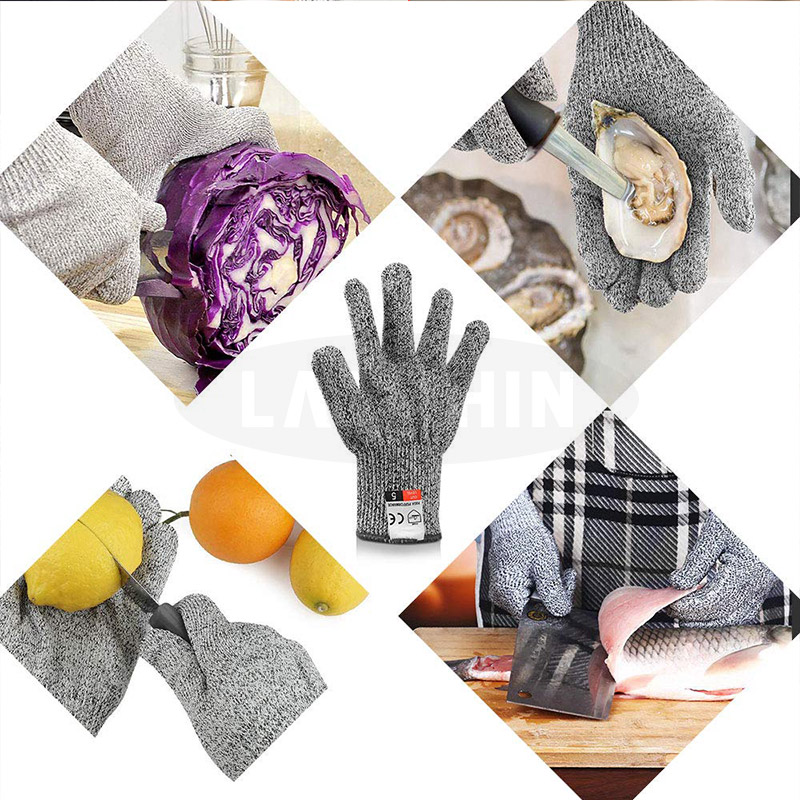 Anti Cut Gloves Protective and  Multifunction
