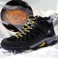 2019 Waterproof Hiking Shoes Mountain Climbing Shoes Outdoor Hiking Boots Trekking Sport Sneakers Men Hunting Trekking