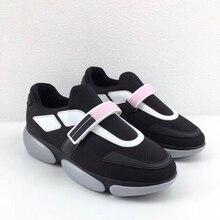 2009 Summer New Baitao Mesh Air-permeable Sports Shoes Female Magic Tie Leisure White Shoe Tide