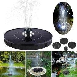 Dropshipping Mini zasilany energią słoneczną pływające oczko wodne Panel wodny fontanna do pompy ogród staw basen fontanna