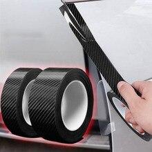 5D Nano Glue Car Sticker Carbon Fiber Protector Film Door Edge Protective Car Trunk Door Sill Full Body Sticker Vinyl Accessory