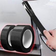 Pegatina de Nano pegamento 5D para coche, película protectora de Protector de fibra de carbono para puerta de maletero de coche, pegatina de cuerpo completo, accesorio de vinilo para Borde de puerta