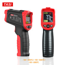 Tasi 880 Derajat Celcius Layar Warna-warni High Temperature Infrared Thermometer Laser(China)
