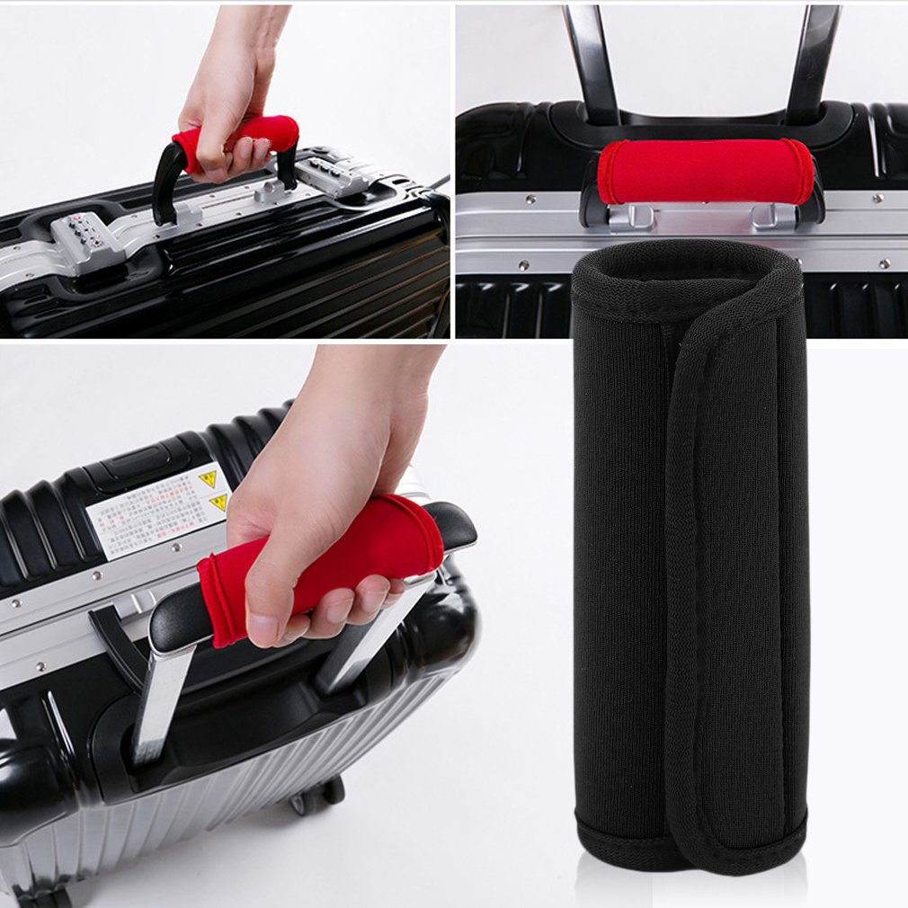 Comfortable Light Neoprene Handle Wraps/grip/identifier For Travel Bag Luggage Suitcase Fit Any Luggage Handle Adhesive Tap