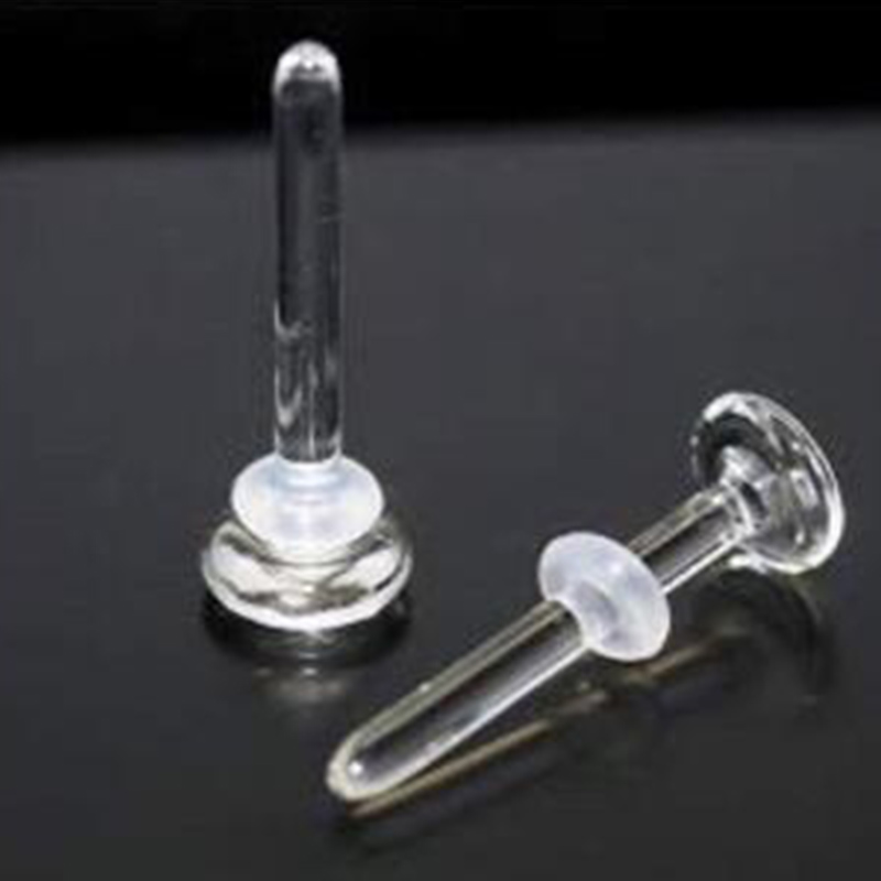 Опора для носа пирекс 18 г-10 г, стеклянные кольца шпильки для носа, ювелирные изделия для тела, кольца для носа, серьги-ноздри, пирсинг 2020