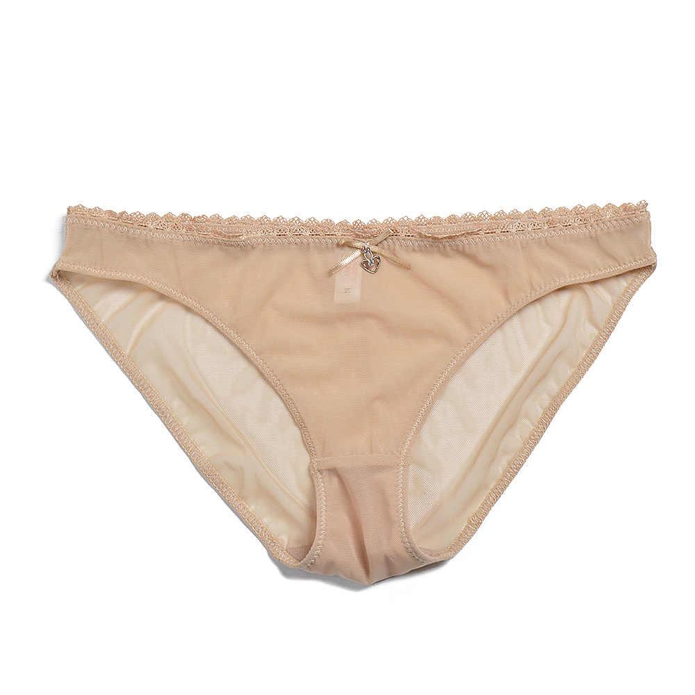 Kadın sütyen külot satış ayrılmış örgü iç çamaşırı seksi Bralette Ultra ince şeffaf kısa setleri B C D E F bardak