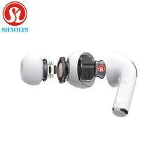 SHAOLIN-auriculares inalámbricos TWS, cascos deportivos con Bluetooth y micrófono para Iphone, Xiaomi, Samsung, Huawei y oppo