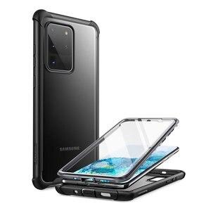 Для Samsung Galaxy S20 Ultra Case Clayco Forza, прочный чехол с полным корпусом, встроенная защита для экрана, совместима с идентификатором отпечатка пальца