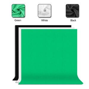 Image 3 - ZUOCHEN Foto Studio Hintergrund Unterstützung Stehen Kit 1.6*3m Schwarz Weiß Grün Bildschirm Hintergrund Set 2*2m Hintergrund Stehen Für Video