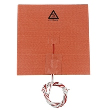 3D Printer Accessories 200 x 200Mm 200V 500W Hot Bed Silicone Pad With Adhesive High Temperature For Cr-10