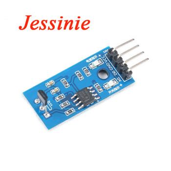 Hall Sensor Module Magnetic Swich Speed Counting Sensors Counter Detection LM393 3144E A3144/OH3144/Y3144 3144 TO-92UA For DIY image