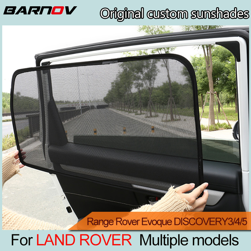 Car Special Curtain Window SunShades Mesh Shade Blind Original Custom For LAND ROVER Range Rover Evoque DISCOVERY3/4/5/SPORT