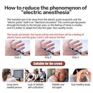 Image 3 - 3 1 で電気鍼ペンマグネット治療癒すマッサージ銃子午線レーザー治療癒すエネルギーペンリリーフ痛みツール