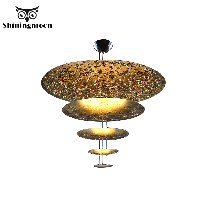 Nordic Luxury Gold Pendant Lights Vintage Home Decor LED Kitchen Living Room Pendant Lamp Coffee Store Hanglamp  Luminaria