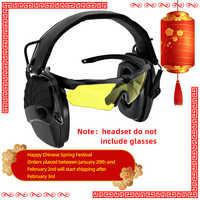 Taktyka elektroniczne strzelanie nauszniki wzmocnienie przeciwhałasowe polowanie ochrona słuchu słuchawki sightlines gąbki wkładki do uszu