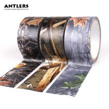 Camouflage tape 10mx0.05m Outdoor Hunting Shooting Tool Camouflage Stealth Tape Waterproof Wrap Rifle pcp airgun accessories