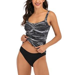 Image 2 - Женский раздельный купальник Riseado, купальник из двух частей, с пуш ап эффектом, танкини 2020, летняя пляжная одежда, сексуальные купальные костюмы с рюшами
