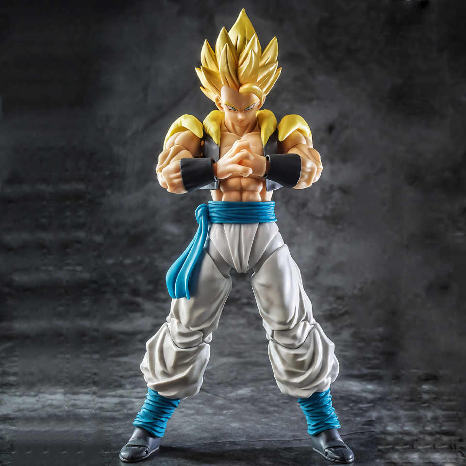 Tronzo Demoniacal Fit Dragon Ball Super Gogeta SHF Custom Headsculpt Set voor SHF Gogeta DBZ SSJ Gogeta PVC Action Figure speelgoed