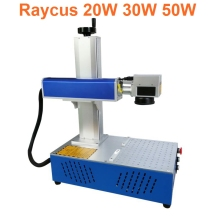 20W 30W 50W raycus All in one fiber marking machine laser metal engraving diy cnc
