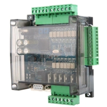 FX3U-14MT High Speed Analog 6AD+2DA PLC Industrial Control Board 24V 1A